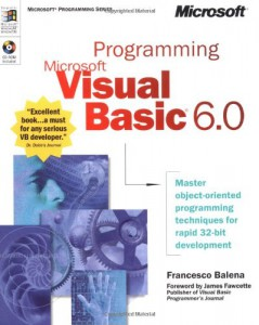 Programming Microsoft vb6 book